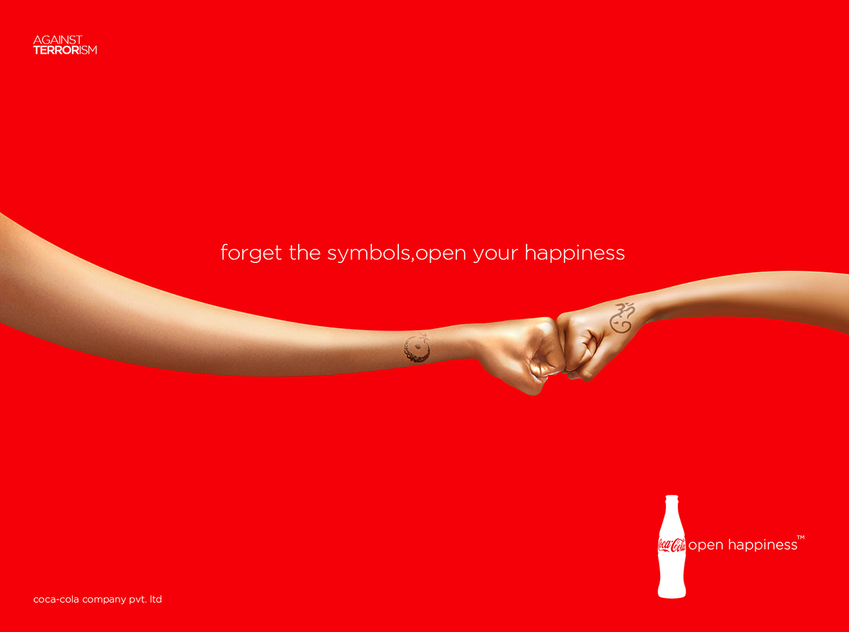 Ad Concept coca-cola print ad concept on behance