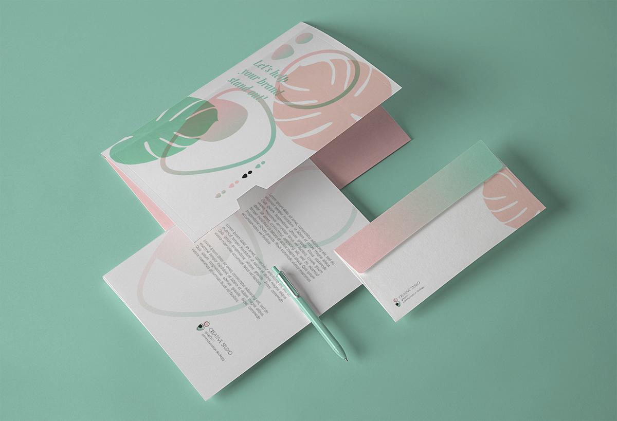 art direction  branding  Corporate Identity design graphic design  logo pastel color posters Web Design  gradient