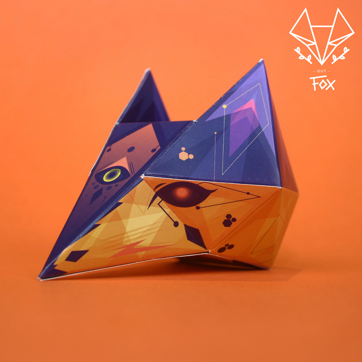 out fox FOX paper fox fox mask Halloween Dia De Muertos mascara zorro