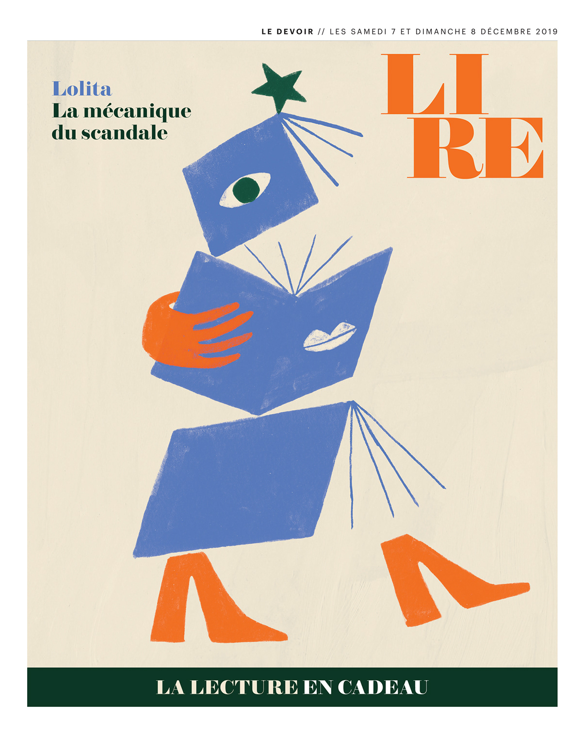 books Christmas editorial gifts ILLUSTRATION  journal le devoir literature
