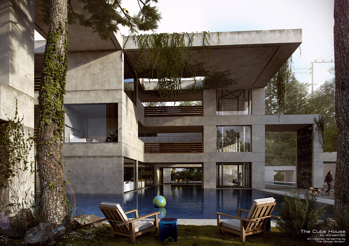 The Cube House On Behance