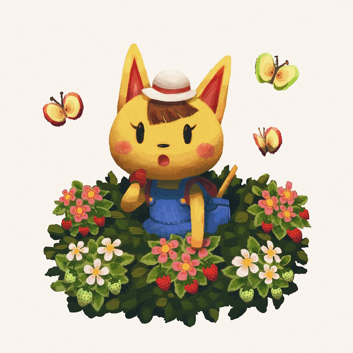 Animal Crossing Fan Art on Behance