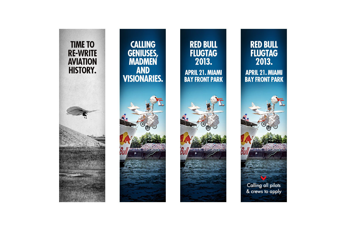 84cc15c09d572 Red Bull Online Advertising Campaigns on Behance