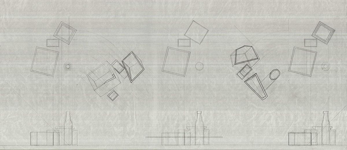 Plan Elevation Oblique : Risd architecture manual representation on behance