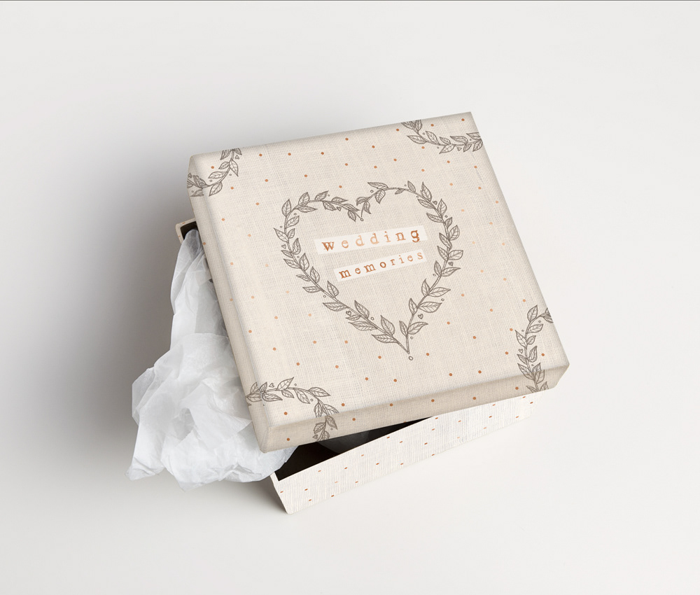 Illustrator giftware homedecor interiors Drawing  wedding homeware weddingdecor birds memorybox