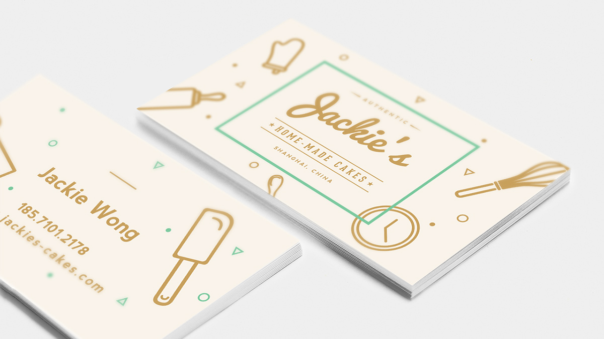 Jackie\'s Cake Brand on Behance