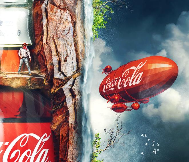 Coca Cola Classique Rusalkadesign gold digger Ludovic Cordelières villains Cow Boy far west