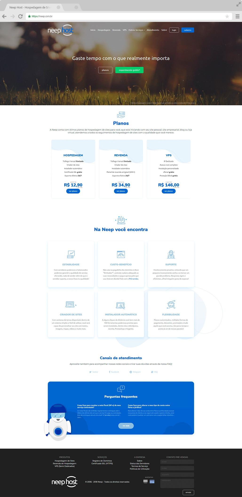 site design host Web hosting company