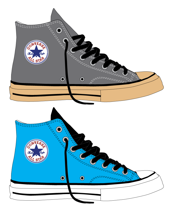 43cd61e5a48f Converse Chuck Taylor All Stars Color Concepts on Behance