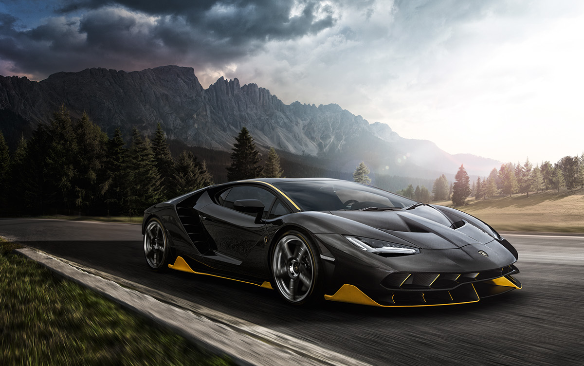 Lamborghini Road To Sant Agata Calendar 2017 On