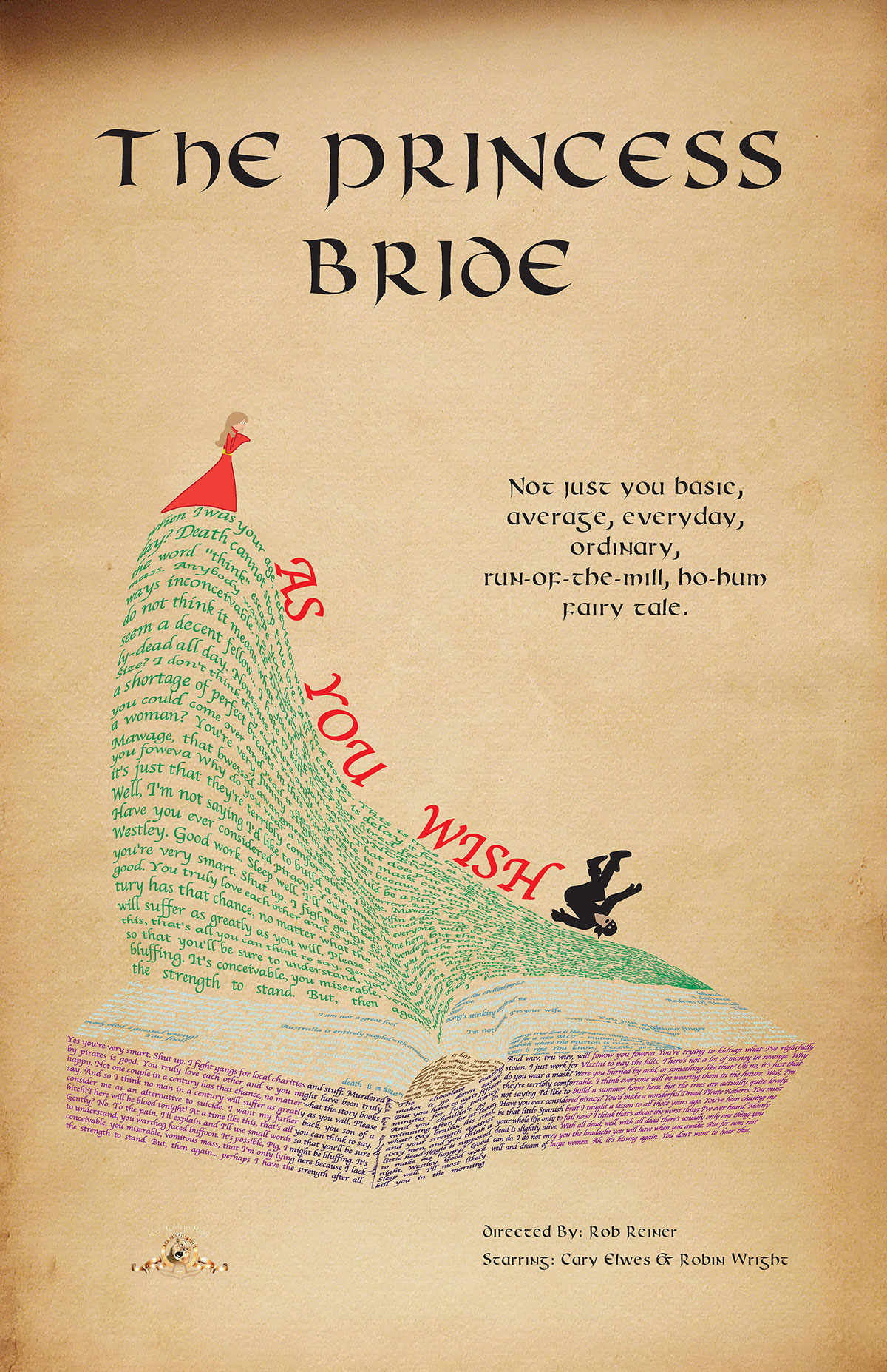 The Princess Bride Poster On Behance