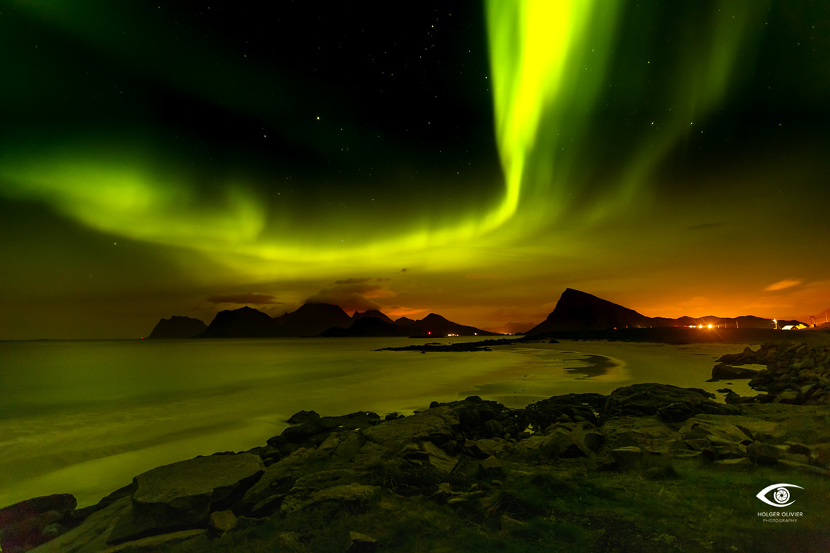 Polarlichter | Lofoten | Leknes | HolgerOlivier Photography