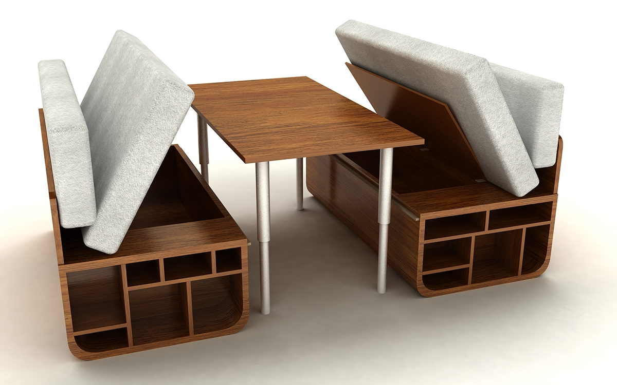 Combo Multifunctional Furniture On Behance