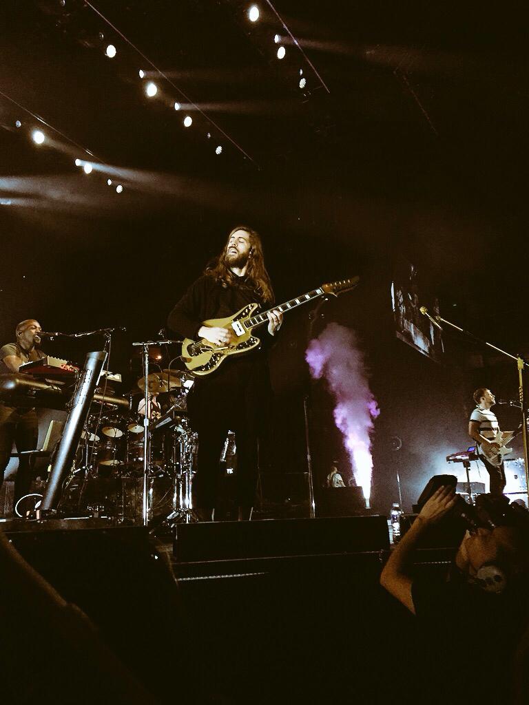 Imagine Dragons - Intro & Radioactive - Bridgestone Arena ...