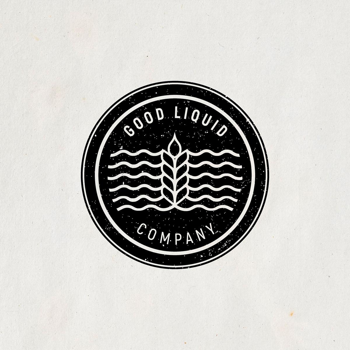 Logo Design beer brewery typography   line conceptual Illustrator branding