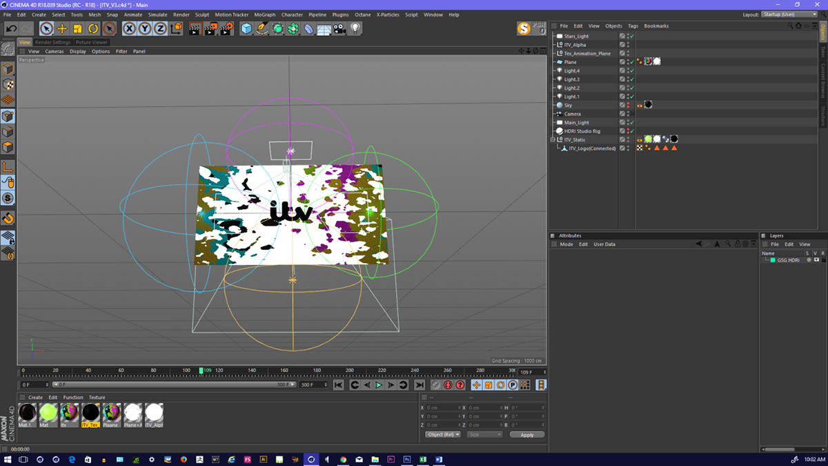 ITV - Behind the scenes using Cinema 4D - C4D animation on Behance