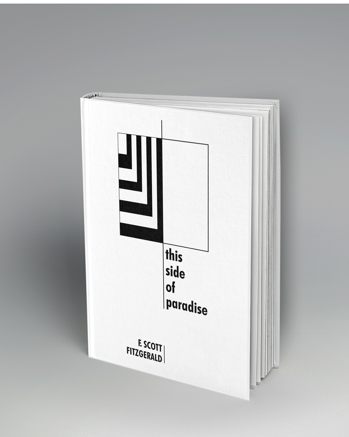 book cover book cover graphic design  cover design typography   black and white geometric