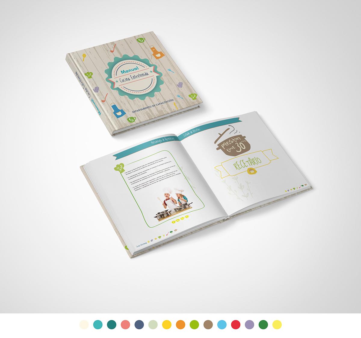 diseño editorial diagramación manual brochure educación marjorie reyes diseño gráfico