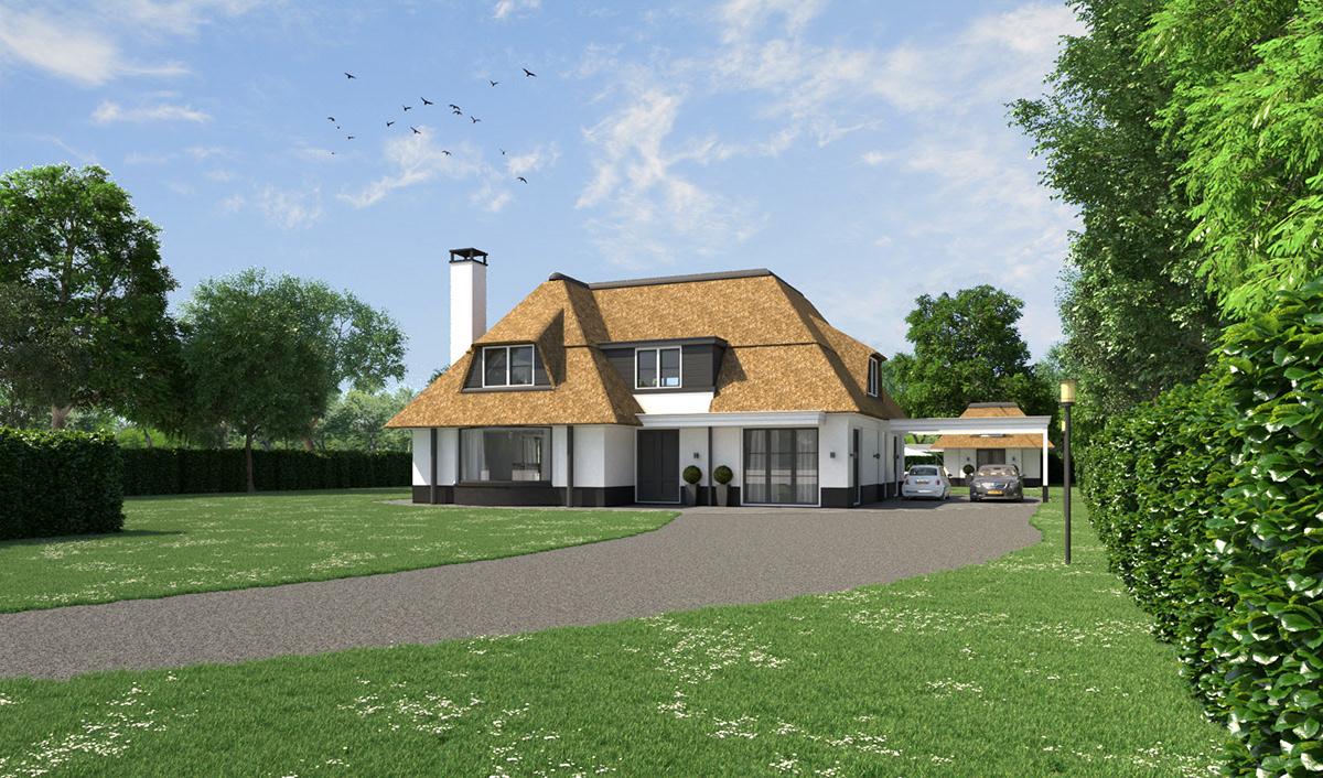 Villa nieuw vennep on behance