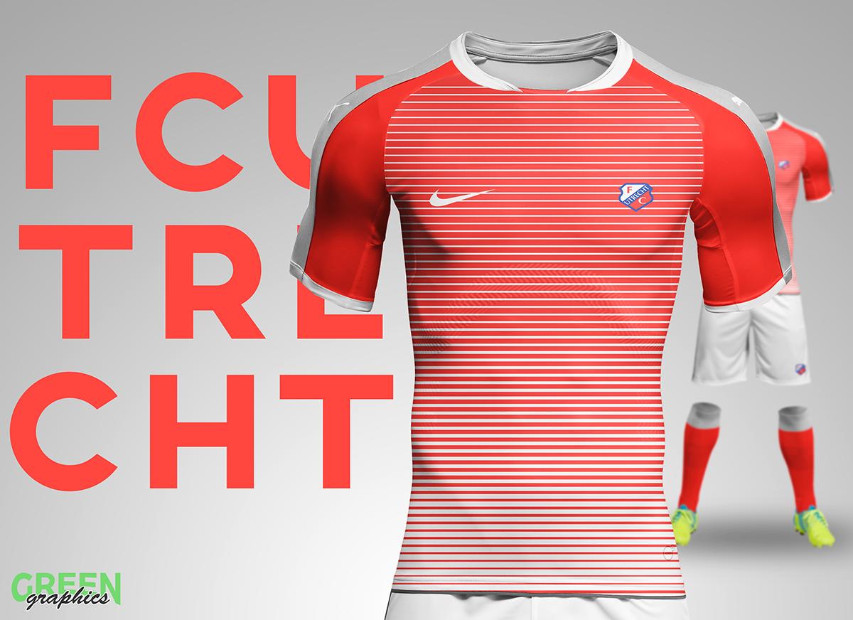 Fc Utrecht Kit Redesign On Behance