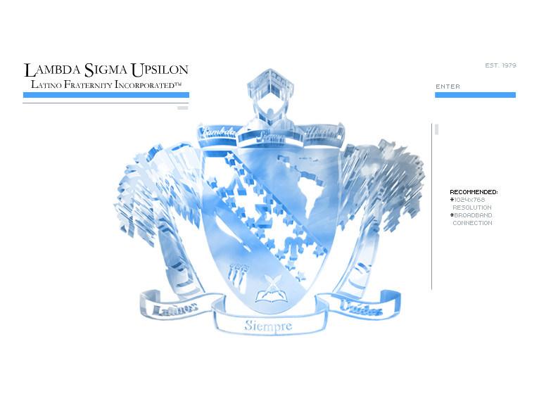 LSU  flash  web  design