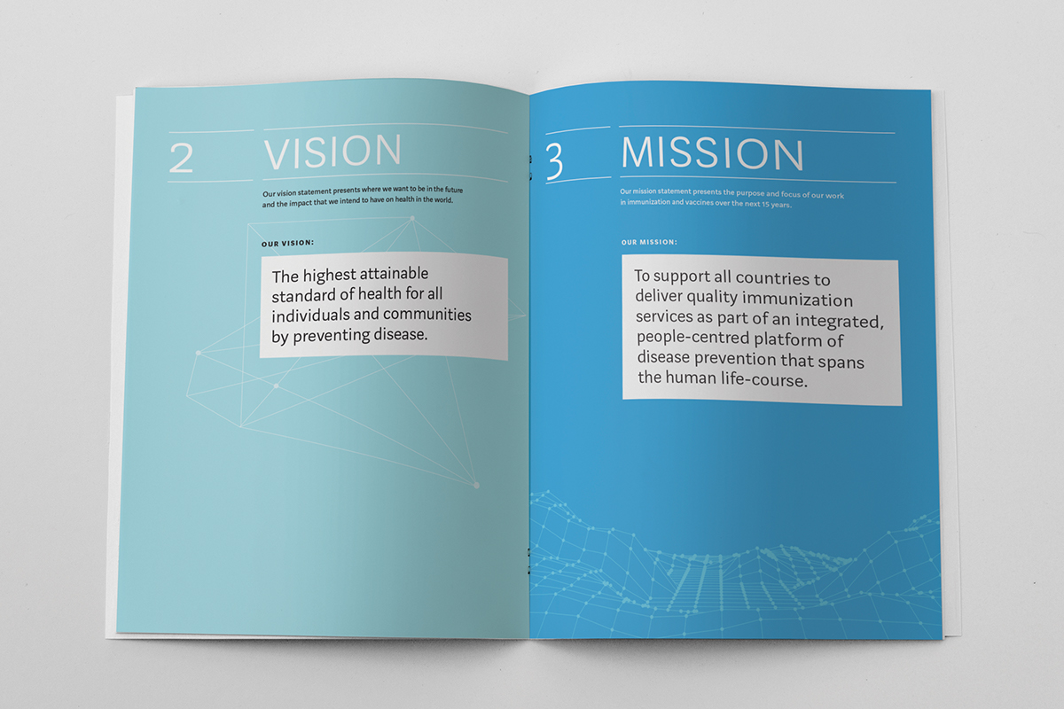 WHO's Vision & Mission in Vaccines 2015-2030 on Behance