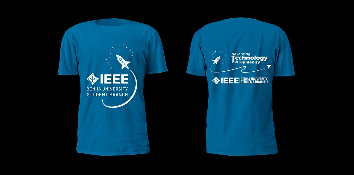 ID t-shirt design ieee team graphics creative print