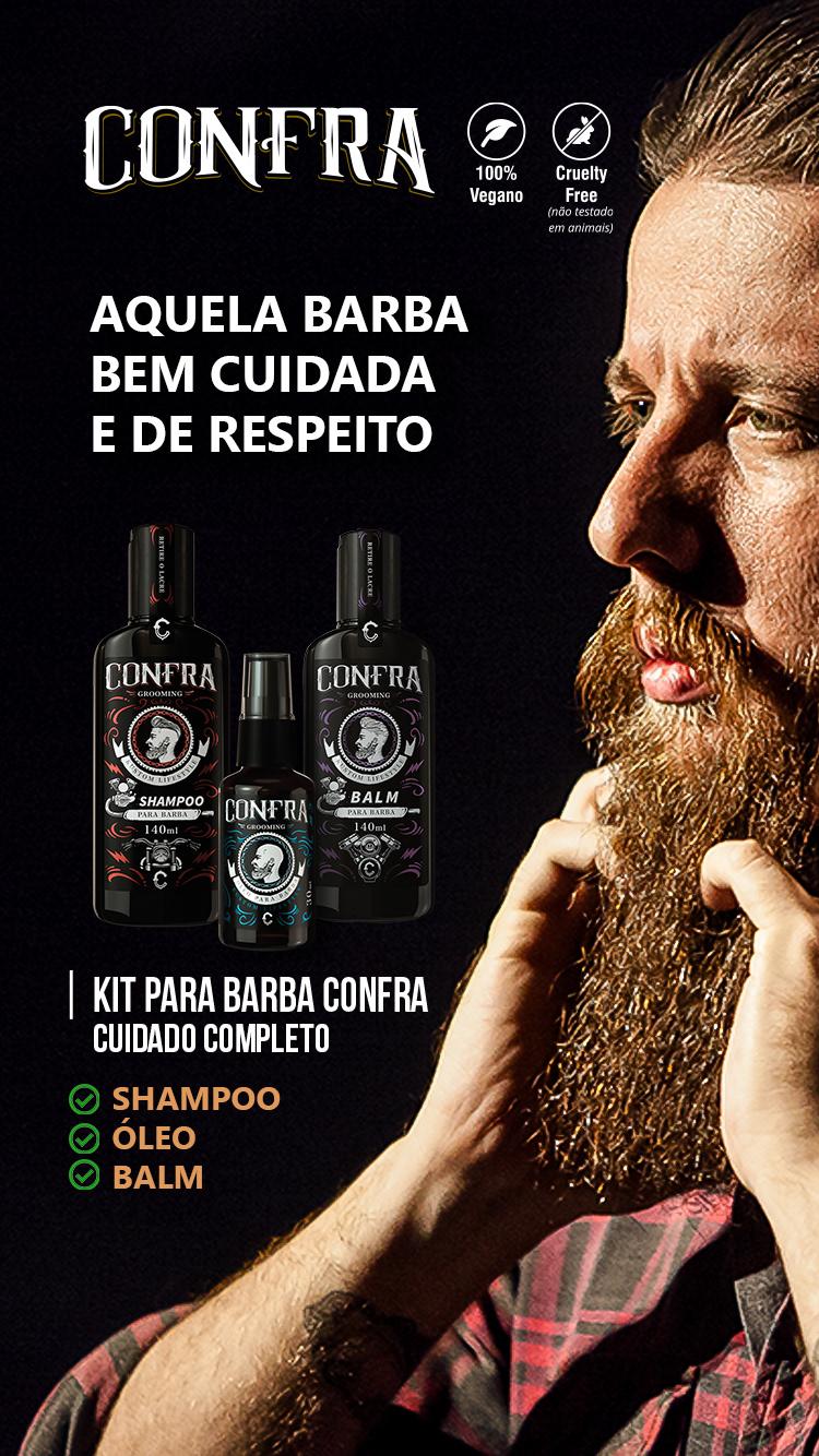 balm Barba barber oleo presente