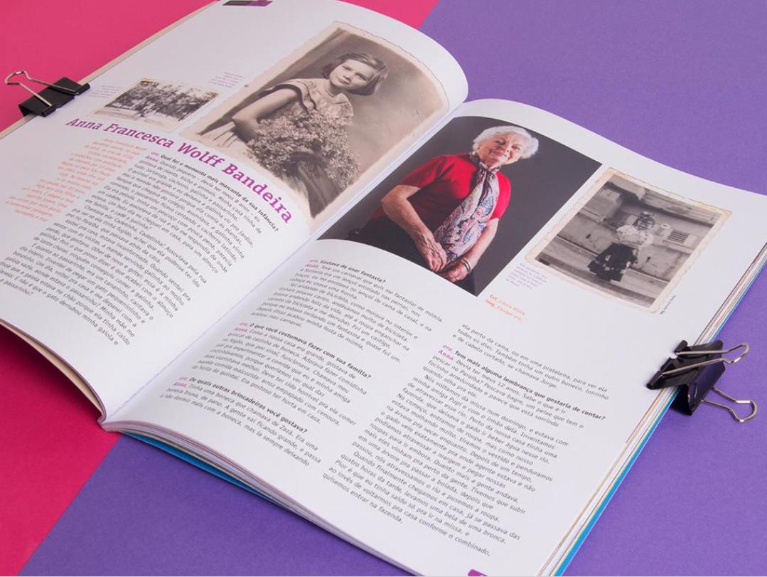 editorial design  graphic design  era_ era espm magazine ILLUSTRATION