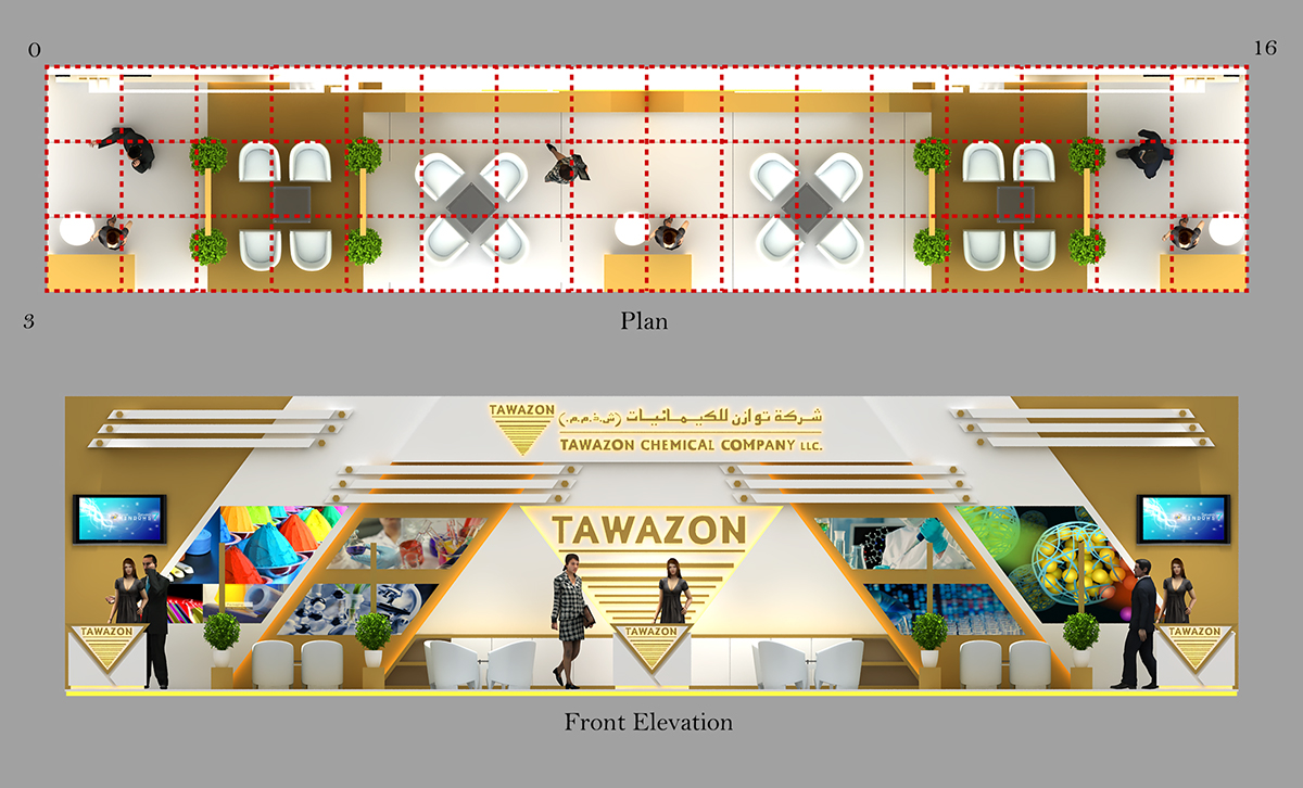 tawazon@middle east coating on Behance