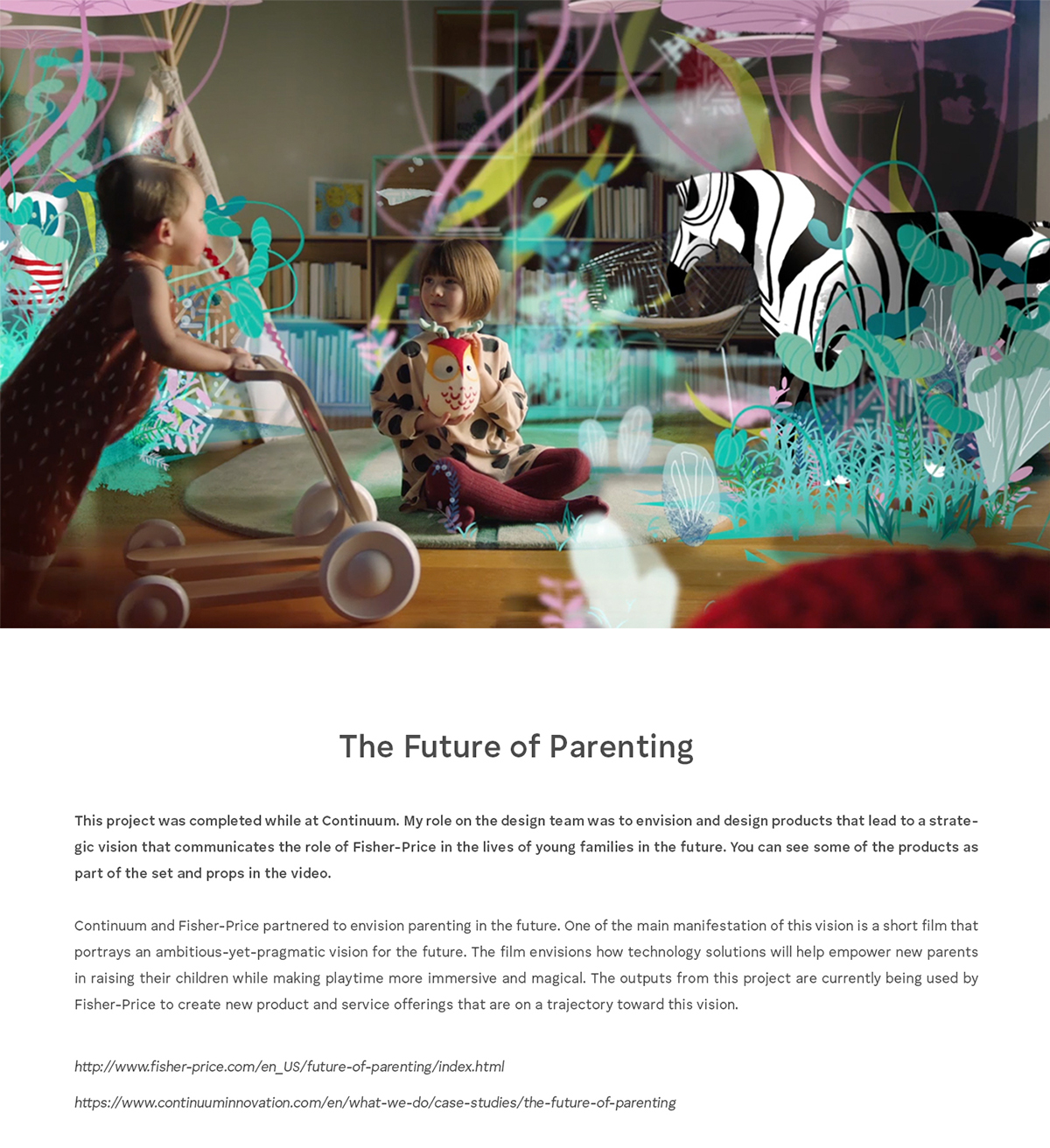 Fisher-Price - The Future of Parenting on Behance