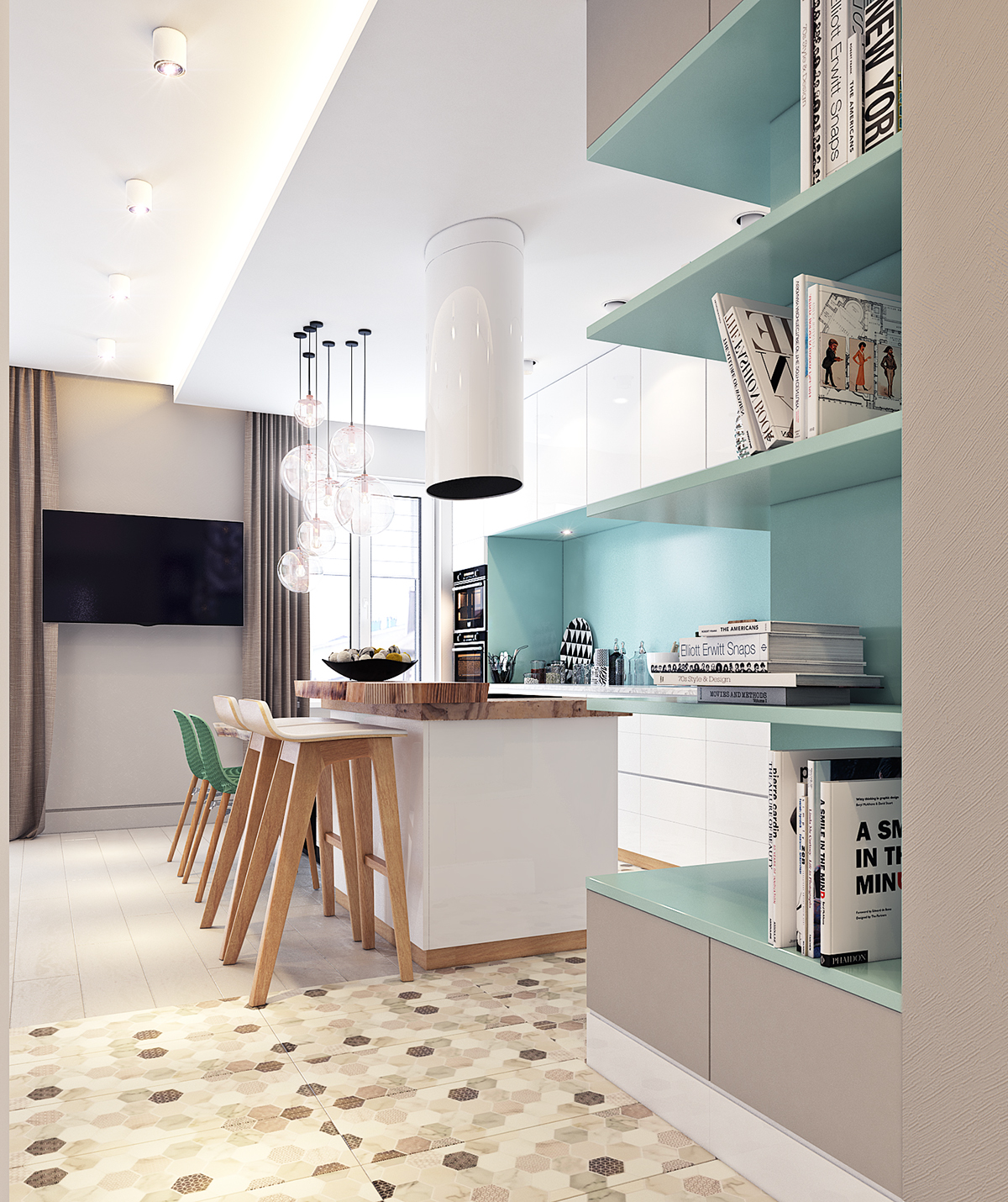 Apartment in Moscow (45 sq.m.) on Behance