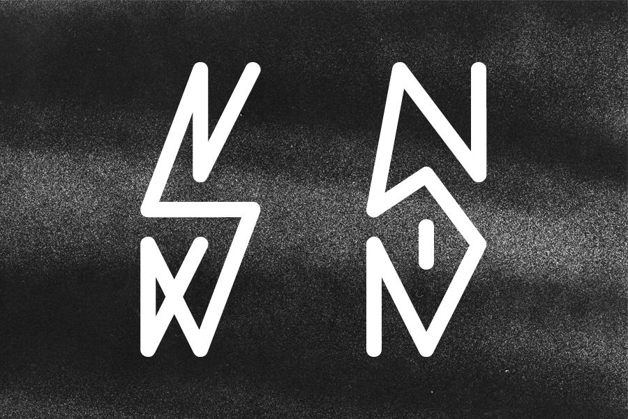 Free font pixação pixacaism typoets paism