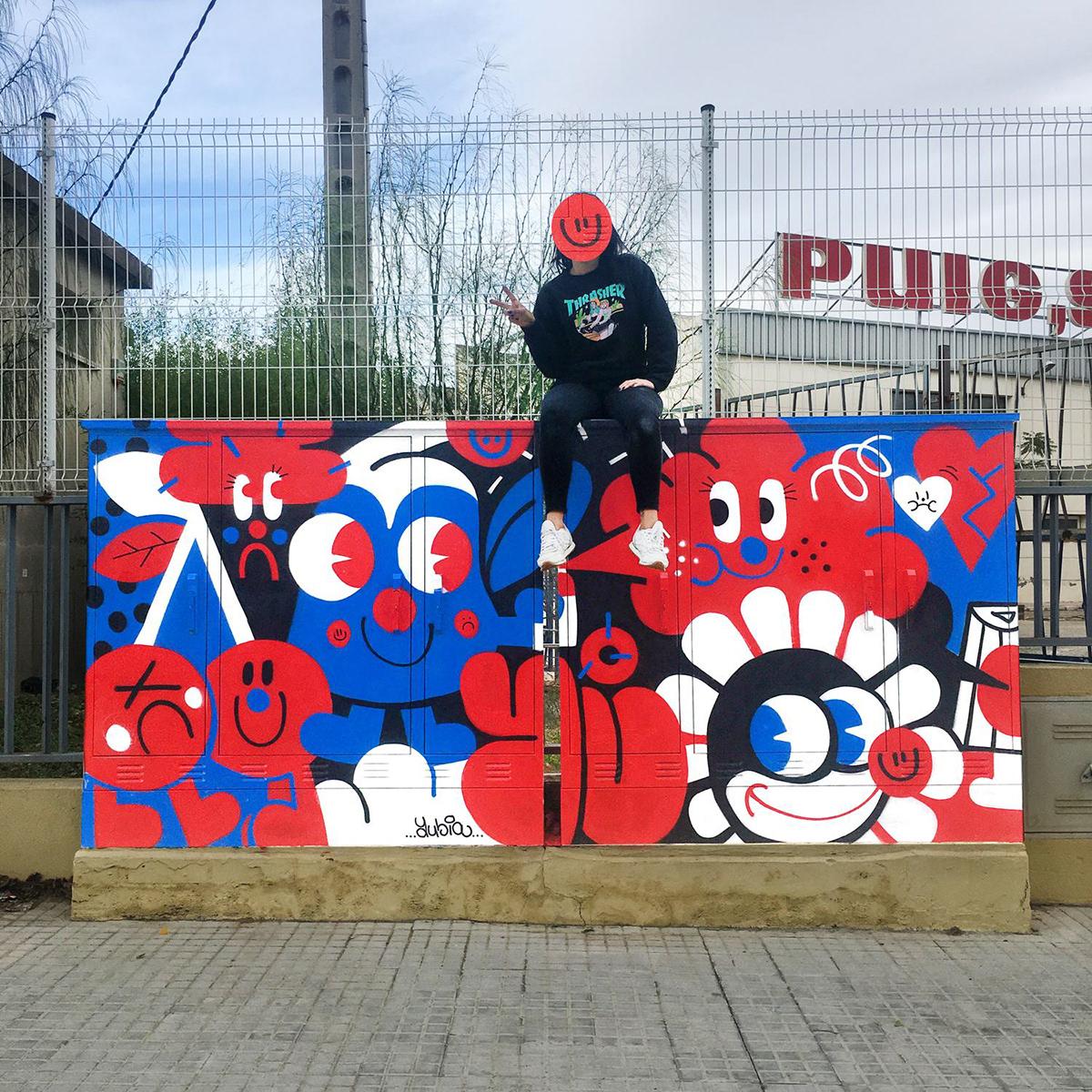 markers Mural reus spray