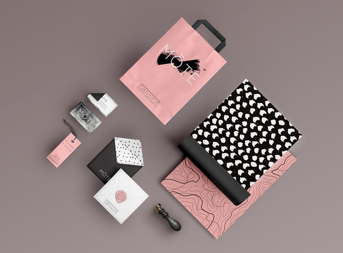 Möte | Brand Identity & Interior Design on Pantone Canvas ...