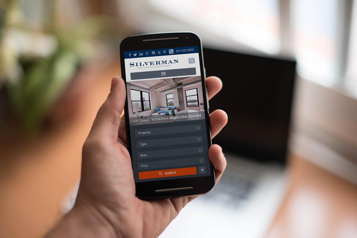 Mobile Real Estate Website Design