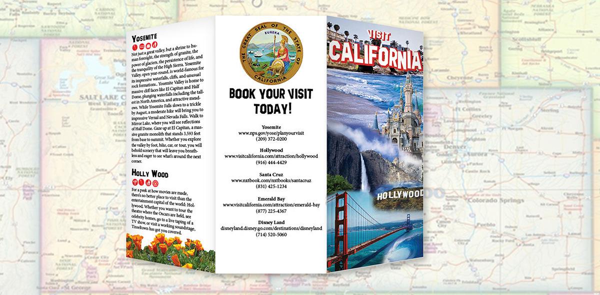 California Brochure - Project on Behance