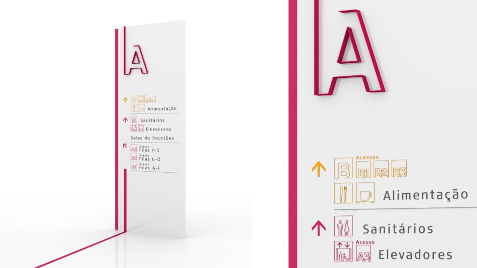 Sinalização Signage UNICAMP estudio 196 wayfinding design
