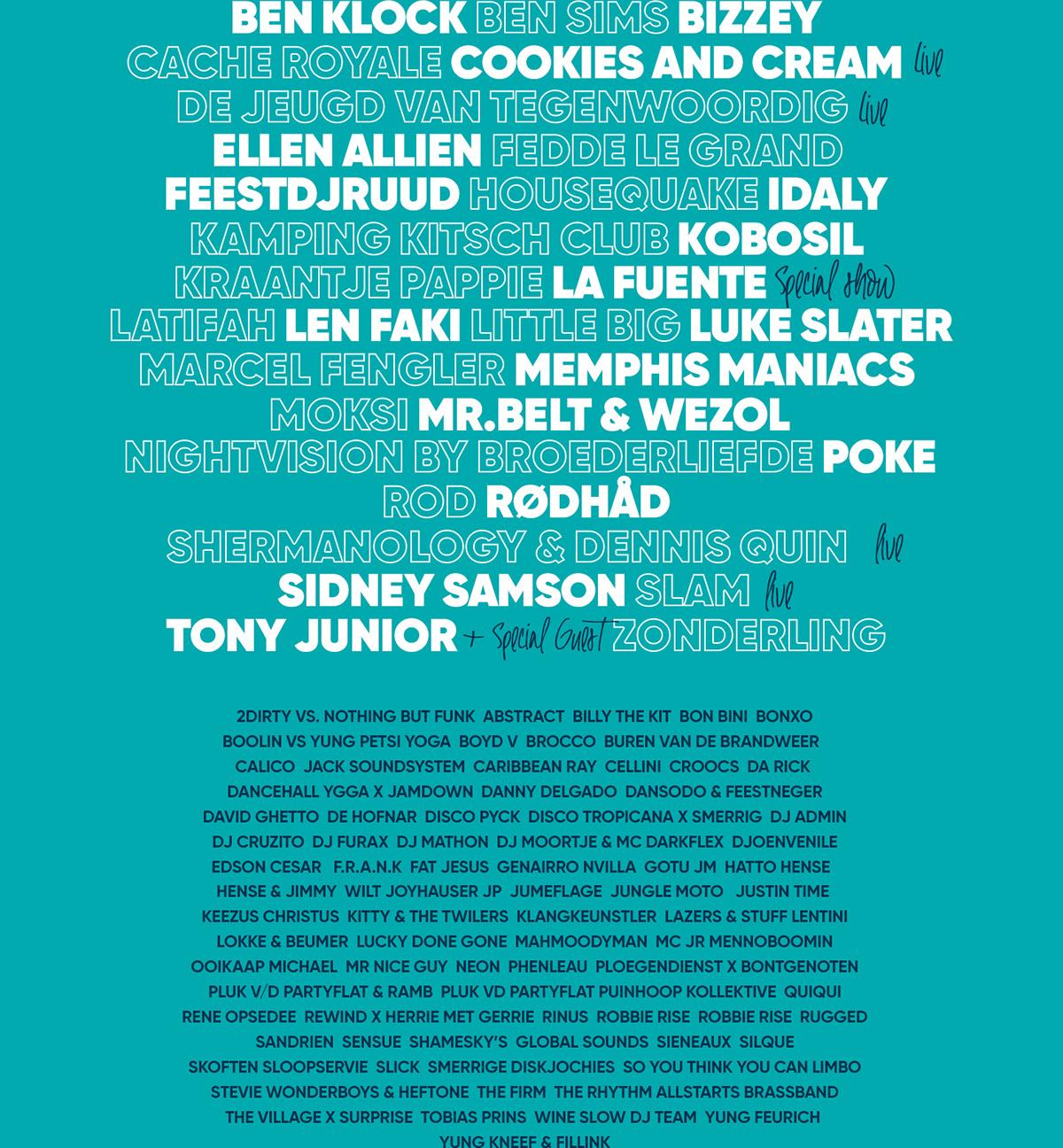 festival Website Webdesign The Netherlands techno house creatives festival design