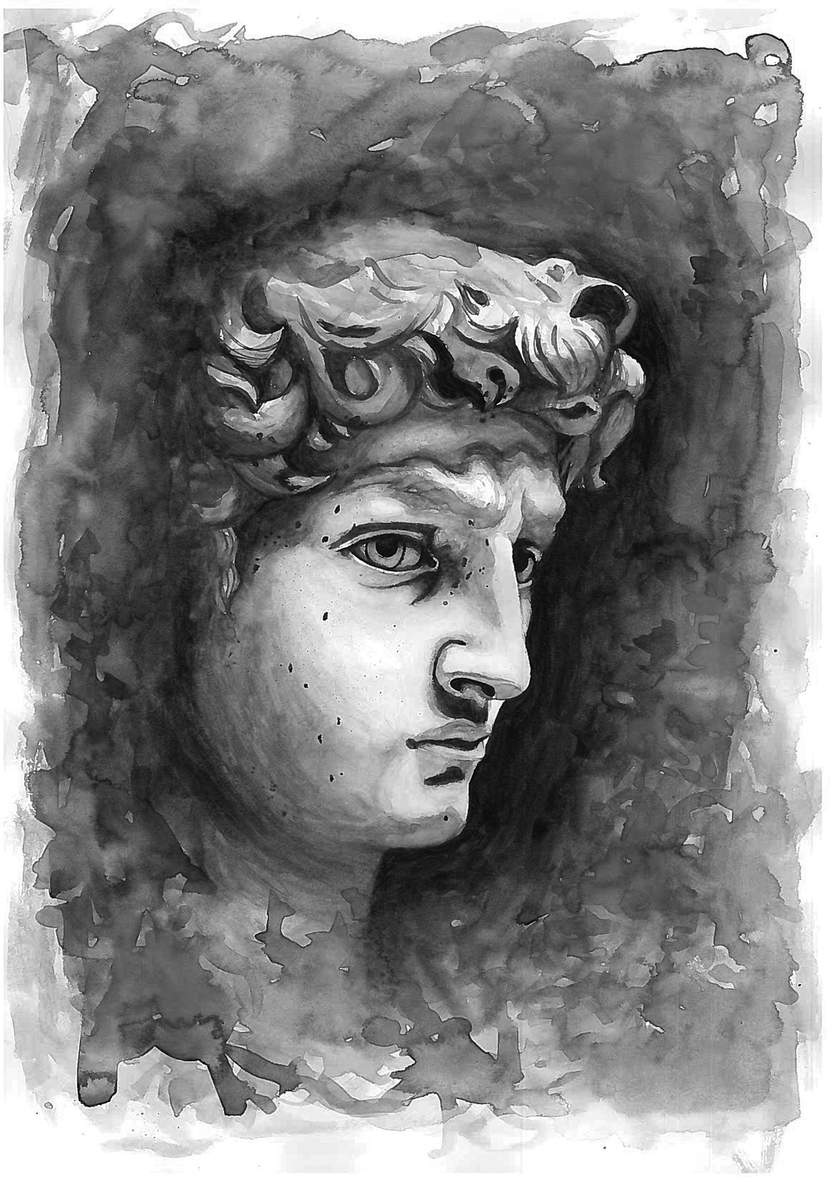 Painting of alexander the great on behance