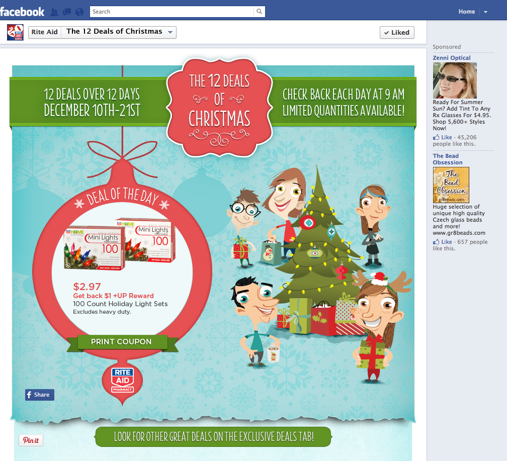 rite aid christmas campaign on behance