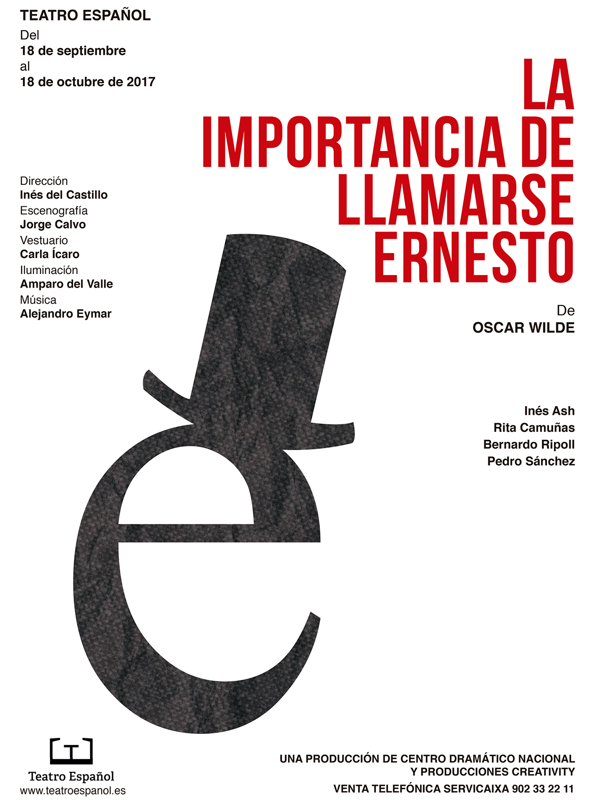 cartel poster teatro Theatre diseño gráfico graphic design