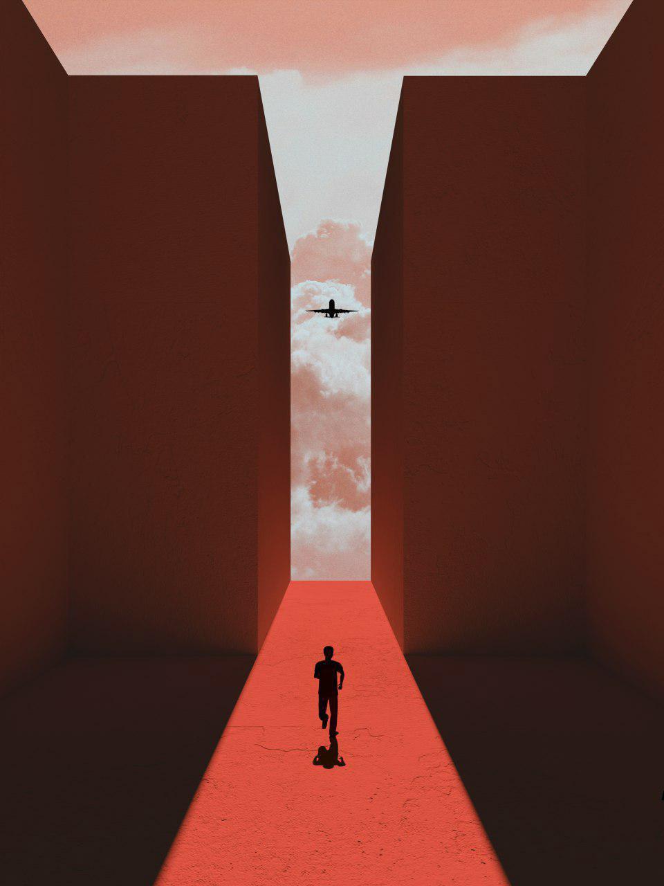 An illustrative exploration of shadows by Anastasiya Kraynyuk