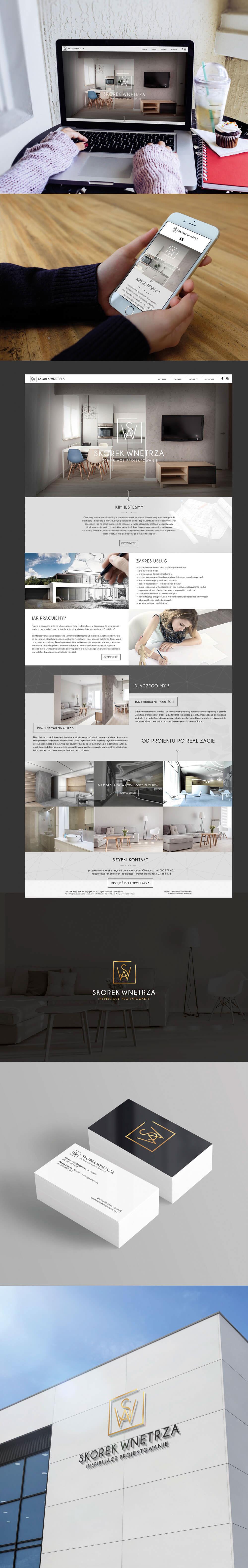 Webdesign strona www Strony Internetowe strony www Warszawa Project design Architekt