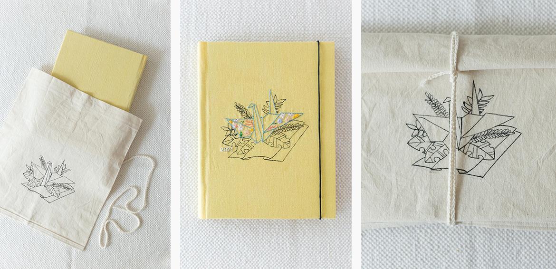 Cuadernos artesanales diseño illustrations ilustraciones Ropa