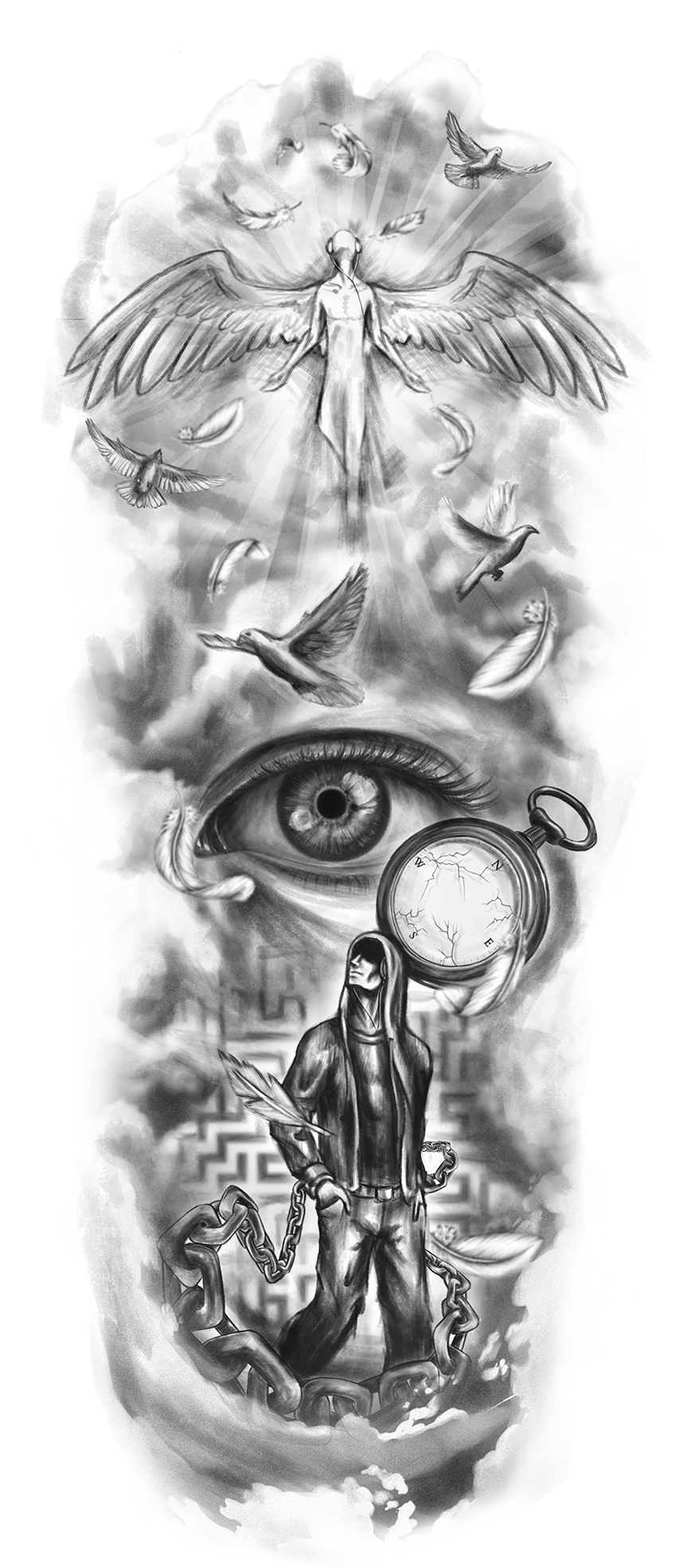Daniel Balcazar Designer - Tattoo Designs