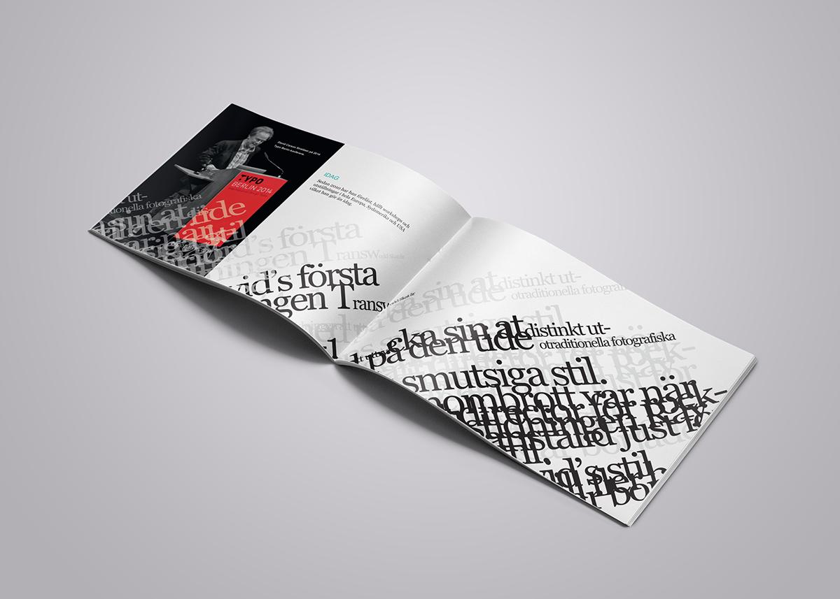 David Carson Handbook Booklet brochure Layout Graphic Designer Deconstructive design experiment modernism