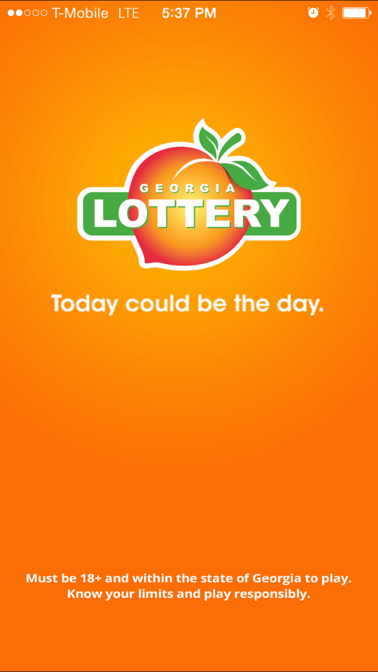 Mobile App - The Georgia Lottery on Behance
