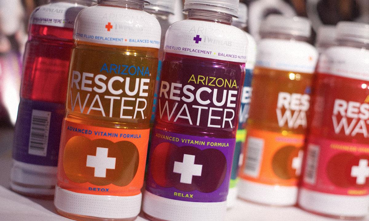 Arizona Beverages,Mpire,product development,water,Can Design,bottle design,brand concept