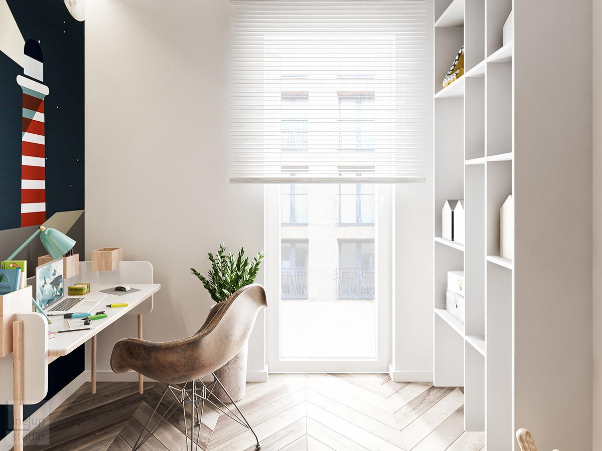 3dsmax vray design Interior Project vizualizarion cracow krakow poland lineupinteriors